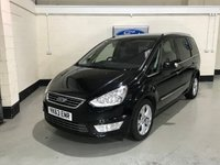 USED 2013 63 FORD GALAXY 2.0 TITANIUM TDCI 5d 161 BHP 1 Owner/Ford Service History/Bluetooth/Parking Sensors