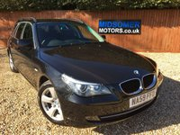 USED 2009 59 BMW 5 SERIES 2.0 520D SE TOURING 5d AUTO 175 BHP