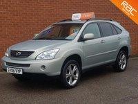 2006 LEXUS RX 3.3 400H SE CVT 5d AUTO 208 BHP £8495.00
