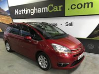 2010 CITROEN C4 GRAND PICASSO 2.0 EXCLUSIVE HDI EGS 5d AUTO 134 BHP £4495.00