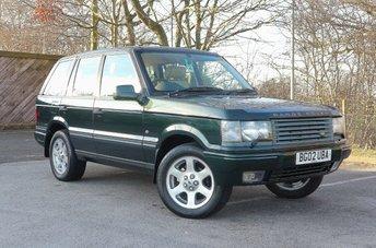 2002 LAND ROVER RANGE ROVER 4.6 VOGUE SE 5d AUTO 215 BHP £4450.00
