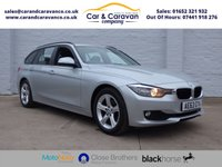 USED 2013 63 BMW 3 SERIES 2.0 320D SE TOURING 5d AUTO 181 BHP Full Service History SAT-NAV A/C 0% Deposit Finance Available