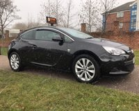 USED 2014 14 VAUXHALL ASTRA 1.4 GTC SRI 3d AUTO 138 BHP A RARE SPORTY AUTOMATIC COUPE: