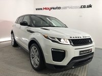 USED 2016 16 LAND ROVER RANGE ROVER EVOQUE 2.0 TD4 HSE DYNAMIC 5d AUTO 177 BHP *BLACK PACK*