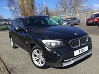 USED 2010 60 BMW X1 2.0 XDRIVE18D SE 5d 141BHP 4WD FSH9STAMPS+2KEYS+FULL LEATHER+