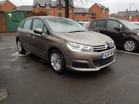 2015 CITROEN C4 1.6 BLUEHDI FEEL 5d 98 BHP £7495.00