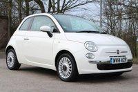 2014 FIAT 500 1.2 LOUNGE 3d 69 BHP £5450.00