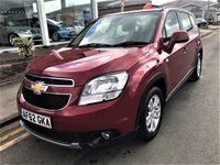 USED 2012 62 CHEVROLET ORLANDO 2.0 LT VCDI 5d 130 BHP