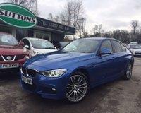 2013 BMW 3 SERIES 2.0 320D XDRIVE M SPORT 4d AUTO 181 BHP £14989.00