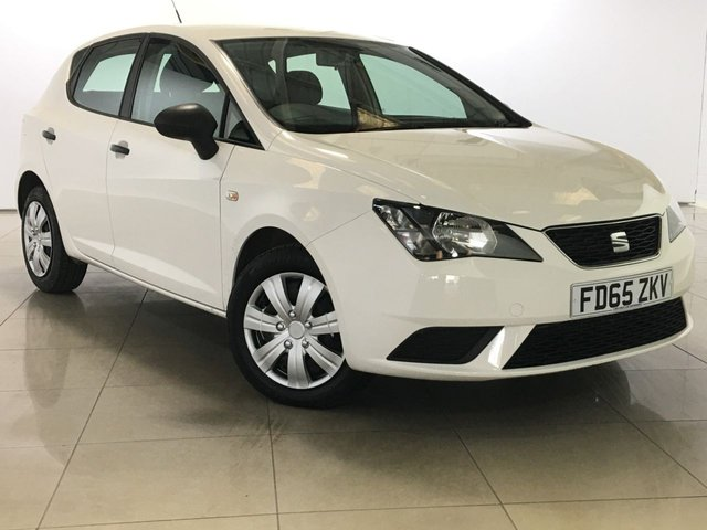 View our 2015 65 SEAT IBIZA 1.4 TDI S 5d 74 BHP