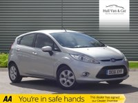 USED 2011 61 FORD FIESTA 1.6 ZETEC ECONETIC TDCI DPF 5d 94 BHP GREAT CONDITION, LOW MILES