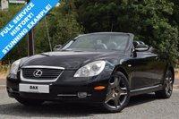 2007 LEXUS SC 4.3 430 2d AUTO 282 BHP £12490.00
