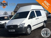 2014 MERCEDES-BENZ VITO 116 CDI DUALINER AUTO EXTRA HIGH ROOF LWB LONG AC £9990.00