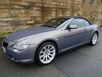 USED 2006 06 BMW 6 SERIES 3.0 630I SPORT 2d AUTO 255 BHP