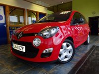 USED 2014 14 RENAULT TWINGO 1.1 DYNAMIQUE 3d 75 BHP