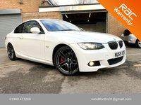 2009 BMW 3 SERIES 3.0 325I M SPORT 2d 215 BHP SAT NAV, FULL BLACK LEATHER 19'S  £8495.00