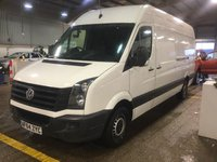 USED 2014 64 VOLKSWAGEN CRAFTER 2.0 CR35 TDI H/R P/V 1d 161 BHP