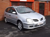 USED 2004 54 NISSAN ALMERA 1.8 TINO SE 5d  1 LADY OWNER FROM NEW - FSH