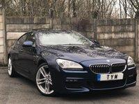 2015 BMW 6 SERIES 3.0 640D M SPORT GRAN COUPE 4d AUTO 309 BHP £24495.00