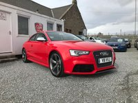 USED 2015 64 AUDI RS5 Quattro 4.2 V8 TFSI S Tronic 2dr ( 450 bhp ) Low Mileage Huge Spec Over £9,000 Worth of Extras Private Plate Included V8 VVJ