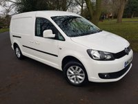 2014 VOLKSWAGEN CADDY MAXI 1.6 C20 TDI HIGHLINE 6dr 102 BHP AIR CON TOP SPEC £7495.00