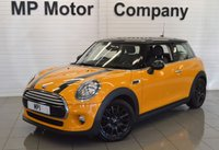 2015 MINI HATCH COOPER 1.5 COOPER D 3d 114 BHP CHILLI PACK  £9695.00