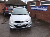 USED 2011 11 HYUNDAI I10 1.2 ACTIVE 5d 85 BHP ONLY 53K MILES