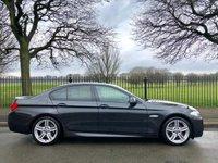 2012 BMW 5 SERIES 2.0 520D M SPORT 4d AUTO 181 BHP £13495.00