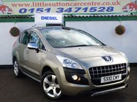 2010 PEUGEOT 3008 1.6 EXCLUSIVE HDI 5d 110 BHP £5999.00