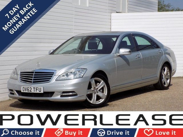 USED 2012 62 MERCEDES-BENZ S CLASS 3.0 S350 BLUETEC L 4d AUTO 258 BHP SUNROOF HEATED SEATS SAT NAV