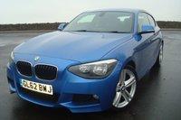 2013 BMW 1 SERIES 2.0 120D M SPORT 3d 181 BHP £9995.00