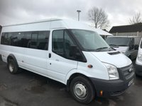 2012 FORD TRANSIT 2.2 430 SHR BUS 17 STR 1d 134 BHP £8750.00