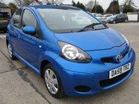 2009 TOYOTA AYGO 1.0 BLUE VVT-I 5d 67 BHP £2895.00