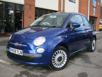 USED 2009 59 FIAT 500 1.2 LOUNGE 3d 69 BHP