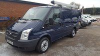 2013 FORD TRANSIT 280 SWB LOW ROOF 100BHP WITH FULL HISTORY £6995.00