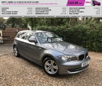 USED 2011 61 BMW 1 SERIES 2.0 118D SE 5d AUTO 141 BHP FULL LEATHER FACTORY BLUETOOTH FULL SERVICE RARE AUTO LOW MILES COMFORT PACK