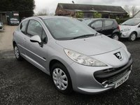 USED 2008 08 PEUGEOT 207 1.4 MPLAY 3d 73 BHP LOW MILEAGE SMALL CAR CD ELECTRIC PACK