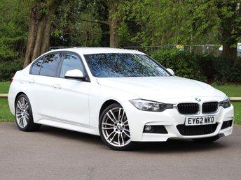 2012 BMW 3 SERIES 2.0 320D M SPORT 4d AUTO 181 BHP