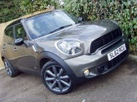 2012 MINI COUNTRYMAN 1.6 COOPER S ALL4 5d 184 BHP £9999.00