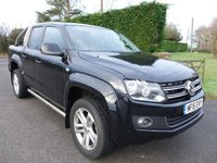 2015 VOLKSWAGEN AMAROK HIGHLINE 4MOTION DOUBLE CAB PICK UP AUTO 2.0TDI 180PS £18995.00