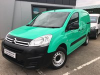 2016 CITROEN BERLINGO 1.6 625 LX L1 BLUEHDI S/S 1d 98 BHP SOLD
