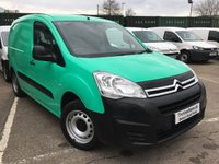 USED 2016 16 CITROEN BERLINGO 1.6 625 LX L1 BLUEHDI S/S 1d 98 BHP