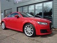 2015 AUDI TT 2.0 TDI ULTRA SPORT 2d 182 BHP £16695.00