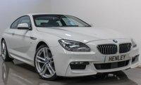 2014 BMW 6 SERIES 3.0 640D M SPORT 2d AUTO 309 BHP £21990.00