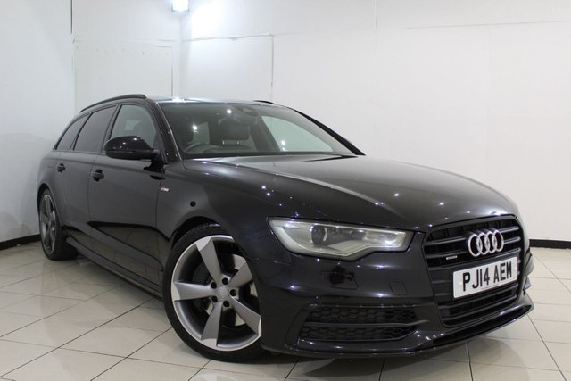 View our 2014 14 AUDI A6 3.0 AVANT TDI QUATTRO S LINE BLACK EDITION 5DR 313 BHP