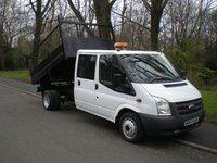 2013 FORD TRANSIT 2.2 350 DRW 1d 99 BHP tipper £11990.00