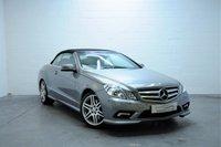 2011 MERCEDES-BENZ E CLASS 3.0 E350 CDI BLUEEFFICIENCY SPORT 2d AUTO 231 BHP £12795.00