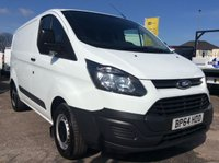 2015 FORD TRANSIT CUSTOM SWB 2.2 270 LR P/V 99 BHP AIR CON1 OWNER FSH NEW MOT £8865.00