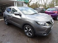 USED 2015 65 NISSAN QASHQAI 1.5 DCI N-TEC PLUS 5d 108 BHP One Owner from new, Full Nissan Service History, MOT until September 2018, Superb fuel economy over 74mpg! Only £20 Road Tax! Diesel. Balance of Nissan Warranty until September 2018