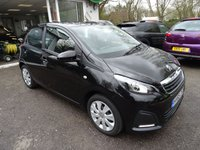 USED 2015 65 PEUGEOT 108 1.0 ACTIVE 5d 68 BHP One Lady Owner from new, Just Serviced by ourselves, MOT until October 2018, Excellent fuel economy! ZERO Road Tax! Low Insurance Group!